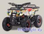 Квадроцикл детский бензиновый MOTAX ATV X-16E BIG WHEEL (электростартер и родительский контроль)