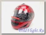 Шлем Vcan 200 модуляр burgundy
