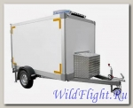 Прицеп-фургон легковой для бизнеса, изотермический «Рефрижератор» (без ХОУ) модель 3791Т2
