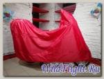 Чехол для скутера Vespa Primavera (с кофром) Red