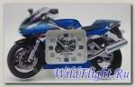 Часы в форме мотоцикла MOTO MODEL (синий)