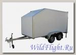Прицеп-фургон легковой для перевозки мототехники (квадроцикла, снегохода, 2-х мотоциклов одновременно) модель 3792М4