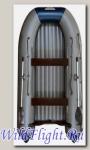 Лодка Флагман 380 L + покрытие эластомерным полимером