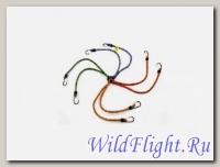 Резинка для крепления багажа (6шт*0,5м) с крюками