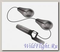 Комплект стереонаушников + 2 микрофона для использования с мотогарнитурой Interphone (tour, sport, link, urban) в шлемах Shark моделей Evoline, Spartan, Skwalk, Vancore