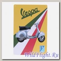 Знак винтажный VESPA тип 15