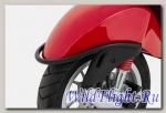 Черная защита переднего крыла Vespa Primavera/Sprint/Elettrica