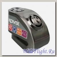 Замок диск. тормоза с сигнализацией KOVIX KD6 (d - 6 мм) стальной