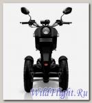 Электрический скутер Трицикл Doohan iTango HO-1200W Черный.