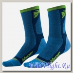 Носки женские THOR DUAL SPORT BLUE/GREEN SOCK