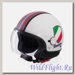 Шлем Vespa V-STRIPES WHITE