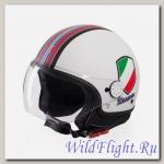 Шлем Vespa V-STRIPES WHITE