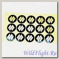 Наклейки набор (12х18) эмблемы Suzuki