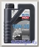 Моторное масло (синтетическое) для мотоциклов STREET 4T 10W-30 (1л) LIQUI MOLY (LIQUI MOLY)