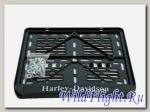 Рамка для номера Harley Davidson рельеф