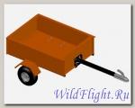 Прицеп одноосный ALFECO ПЦМС-220 для квадроциклов