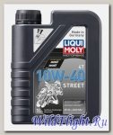 Моторное масло (синтетическое) для мотоциклов Street 4T 10W-40 (1л) LIQUI MOLY (LIQUI MOLY)