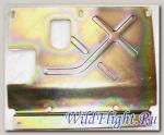 Пластина теплоизоляционная глушителя, сталь LU025438