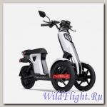 Электрический скутер Трицикл Doohan iTango HO-1200W Белый.