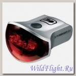 KELLYS Фонарь диодный задний KLS RHL-07, 4 режима, цвет: серебристый