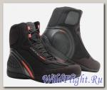 Ботинки Dainese MOTORSHOE D1 DWP Z09 Black/Fluo-Red/Anthracite