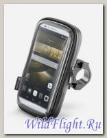 Универсальный держатель для смартфона диагональю до 6,5 дюйма на руль мотоцикла или велосипеда