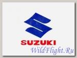 Наклейка эмблема Suzuki (12х12)