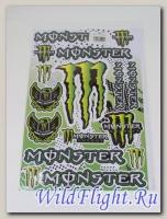 Наклейки набор D6030 Monster #2
