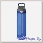 Бутылка для воды с носиком для питья Contigo Addison синяя 750мл.