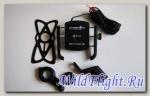 Держатель универсальный INTERPHONE SMMOTOCRABUSB мотокраб с USB на руль мотоцикла, велосипеда