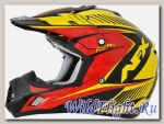 Шлем AFX FX-17 COMP RED/YELLOW