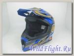 Шлем (кросс) MC 135 Rush Blue