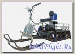 Мотобуксировщик Мухтар 7 с лыжным модулем УЛМ-1