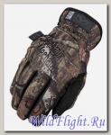 Перчатки Mechanix FastFit Mossy Oak Glove Camo