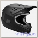 Шлем THOR YOUTH SECTOR LEVEL MATTE BLACK/CHARCOAL HELMET