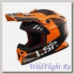 Шлем LS2 MX456 LIGHT RALLIE Orange Black