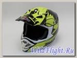 Шлем HIZER B6195 black/yellow