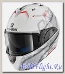 Шлем SHARK Evo-One 2 Keenser White