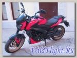 Мотоцикл Bajaj Dominar 400 2018 (Б/У - тест драйв)
