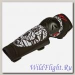 Защита колена FLY RACING BARRICADE чёрная/белая