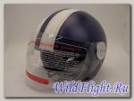 Шлем Vespa 522 открытый кожа aegean