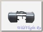 Сумка багажная мото универсальная G-ХZ-014 (Перекидные кофры (пара) спортивно-туристический стиль)
