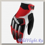 Перчатки THOR YOUTH SPECTRUM RED/BLACK/WHITE