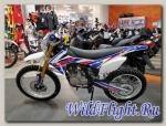 Кроссовый мотоцикл BSE J1-250e naked 21/18 (2018)