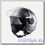 Шлем Vespa VJ (Серый)
