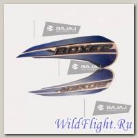 Наклейки бокового пластика Bajaj Boxer X150