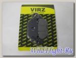 Колодки тормозные дисковые YBR125 ТИП1 JP (110x50x8)