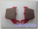 Колодки тормозные дисковые KAYO T4,T6 (задние) (60x44x10)