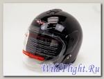 Шлем Vcan Max 617 открытый black