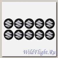 Наклейки набор (12х29) эмблемы Suzuki